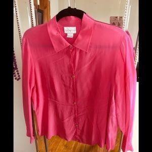 BOGO Worthington 100% silk blouse